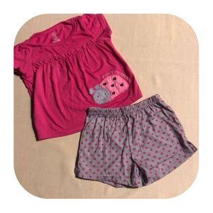 Carter's Pajama Set Girls 12M